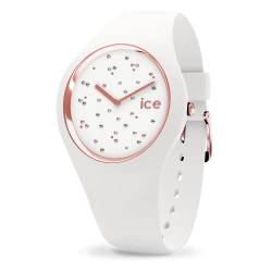 Ice-Watch - ICE cosmos Star White - Women's wristwatch with silicon strap - 016297 (Medium) von Ice-Watch