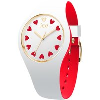 Ice-Watch White Heart Love Damenuhr in Zweifarbig 013370 von Ice-Watch
