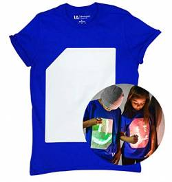 Illuminated Apparel Interaktive Leucht T-Shirt (Blau/Green, XL) von Illuminated Apparel