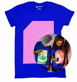 Illuminated Apparel Interaktive Leucht T-Shirt (Blau/Rosa, M) von Illuminated Apparel