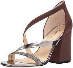 Imagine Vince Camuto Damen ABI Sandalen mit Absatz, Dark Chocolate, 39 EU von Imagine Vince Camuto