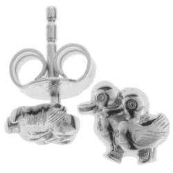 InCollections Kinder-Ohrstecker 925/000 Sterlingsilber, Entchen 0010263345100 von InCollections