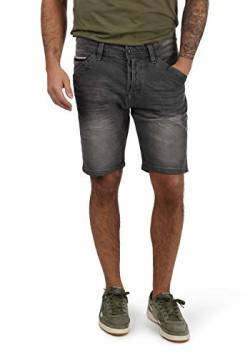 Indicode Alessio Herren Jeans Shorts Kurze Denim Hose Mit Stretch-Anteil Regular Fit, Größe:XL, Farbe:Light Grey (901) von Indicode