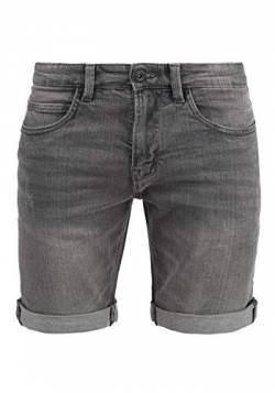 Indicode Quentin Herren Jeans Shorts Kurze Denim Hose Mit Destroyed-Optik Aus Stretch-Material Regular Fit, Größe:L, Farbe:Light Grey (901) von Indicode