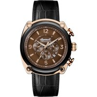 Ingersoll 1892 The Michigan Herrenchronograph in Schwarz I01202 von Ingersoll