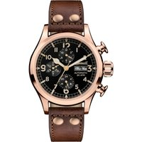 Ingersoll Discovery The Armstrong Multifunction Herrenuhr in Braun I02201 von Ingersoll