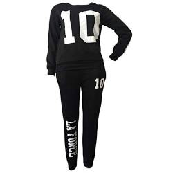 Inlefen Women Tracksuit Jogging Suit Soft Comfortable Long Sleeve Pullover Pants 2 Piece Clothes Set Sport Sweatshirt Trousers Fitness Yoga Suits 4 Colors von Inlefen