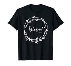 Blessed Psalms 23 Faith Grief Hope Christian Matching Gift T-Shirt von Inspired By Grace Designs