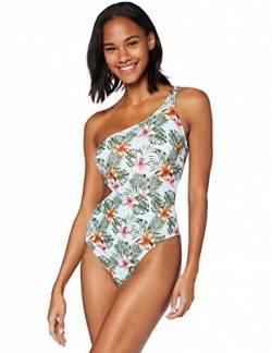 Iris /& Lilly Damen One Shoulder asymmetrischer Badeanzug Marke