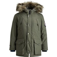 JACK & JONES Junior Parka JOREXPLORE für Jungen olive Junge Gr. 128 von JACK & JONES Junior