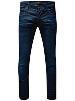 JACK & JONES PREMIUM Herren Skinny JeansHosen Tim Classic Jj 820 Lid Prm Noos, Gr. W28/L32, Blau (Medium Blue Denim none) von JACK & JONES