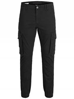 JACK & JONES Male Cargohose Paul Flake AKM 542 3132Black von JACK & JONES