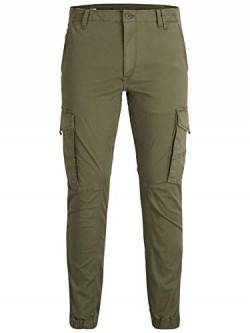 JACK & JONES Herren Jjipaul Jjflake Akm 542 Olive Night Noos Hose, Olive Night, 33W / 32L von JACK & JONES