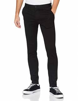 JACK & JONES Male Chino Marco Phil Black 3434Black von JACK & JONES