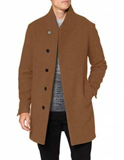 JACK & JONES Male Mantel Recycling Wollmischfaser XLKhaki von JACK & JONES