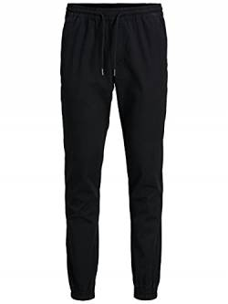 JACK & JONES Herren JJIGORDON JJLANE AKM Black NOOS Hose, L von JACK & JONES