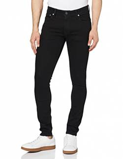 JACK & JONES Herren Jjiliam Jjoriginal Am 009 Lid Noos Jeanshose, Black Denim, 33W 30L EU von JACK & JONES
