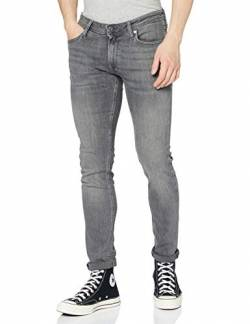 JACK & JONES Herren Jjiliam Jjoriginal Am 010 Lid Noos Jeanshose, Grey Denim, 34W 30L EU von JACK & JONES