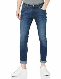 JACK & JONES Male Skinny Fit Jeans Liam ORIGINAL AM 014 2932Blue Denim von JACK & JONES
