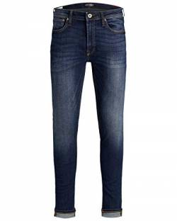 JACK & JONES Male Skinny Fit Jeans Liam ORIGINAL AM 014 3332Blue Denim von JACK & JONES