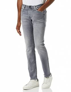 JACK & JONES Male Slim Fit Jeans Glenn ICON JJ 257 50SPS 2932Grey Denim von JACK & JONES