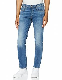 JACK & JONES Herren JJITIM JJORIGINAL AM 781 50SPS NOOS Slim Jeans, Blau Blue Denim, W34/L32 von JACK & JONES