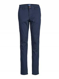 JACK & JONES Herren Chino Boys Slim Fit 140Navy Blazer von JACK & JONES