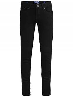 JACK & JONES Herren Skinny Fit Jeans Boys 134Black Denim von JACK & JONES