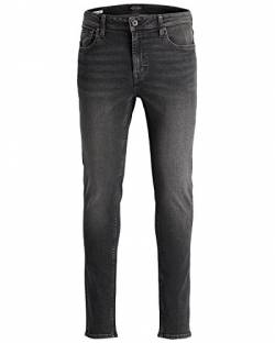 JACK & JONES Ubbo Herren Jeans Hose Denim Stretch Slim Fit, Größe:W31/32, Farbe:Grey Denim von JACK & JONES