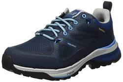 Jack Wolfskin Damen Force Striker Texapore Low W Trekking- & Wanderhalbschuhe, Blau (Dark Blue/Light Blue 1179), 40 EU von Jack Wolfskin