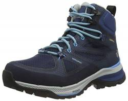 Jack Wolfskin Damen FORCE STRIKER TEXAPORE MID W Outdoorschuhe, Dark Blue/Light Blue, 39.5 EU von Jack Wolfskin