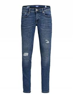 JACK & JONES Herren Skinny Fit Jeans Jungs 134Blue Denim von JACK & JONES