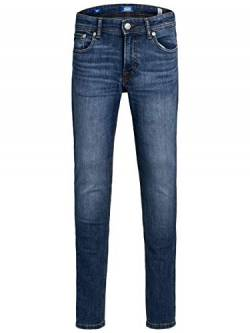JACK & JONES Herren Skinny Fit Jeans Boys 140Blue Denim von JACK & JONES
