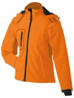 James & Nicholson Damen Jacke Softshelljacke Winter orange (orange) Medium von James & Nicholson