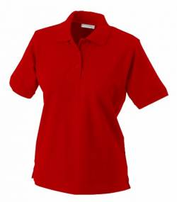 James & Nicholson Damen Ladies' Polo Poloshirt, rot), Medium von James & Nicholson