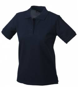 James & Nicholson Damen Ladies' Polo Poloshirt, blau Navy), XX-Large von James & Nicholson