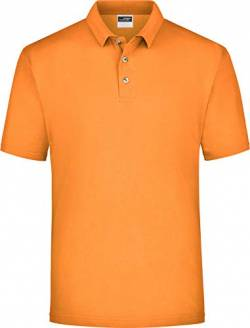 James & Nicholson Herren Poloshirt Polo-Piqué Medium, (Orange), XXX-Large von James & Nicholson