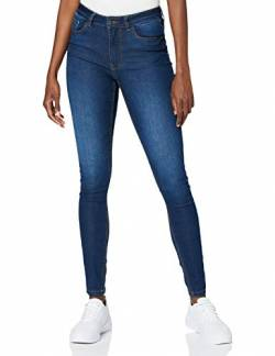 JdY Damen JDYNEWNIKKI Life HIGH SKN MD BL DNM NOOS Hose, Medium Blue Denim, 30 (X-Small) von JdY
