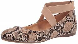 Jessica Simpson Women's Mandayss Exclusive Ballet Flat, Khaki Quilted Leather, 5 von Jessica Simpson