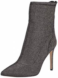 Jewel Badgley Mischka Women's Bootie Fashion Boot, Smoke, 8 von Jewel Badgley Mischka