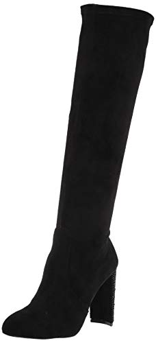 Jewel Badgley Mischka Womens Knee High Boot, Black, 7 US von Jewel Badgley Mischka