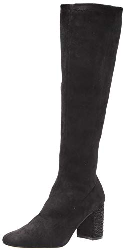 Jewel Badgley Mischka Womens Knee High Boot, Black, 8 US von Jewel Badgley Mischka