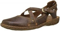 Josef Seibel Damen Riemchensandalen Rosalie 13,Weite G (Normal),Lady,Ladies,Women's,Woman,Sandaletten,Sommerschuhe,Braun (Brandy),38 EU / 5 UK von Josef Seibel