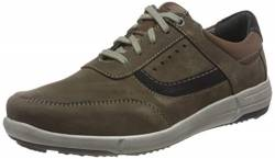 Josef Seibel Herren Low-Top Sneaker Enrico 05,Weite G (Normal),lose Einlage,Men's,Man,schnürschuhe,schnürer,Men,Braun (Vulcano-Multi),40 EU / 6.5 UK von Josef Seibel