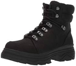 Jslides Women's Reign Snow Boot, Black, 10 Medium US von Jslides