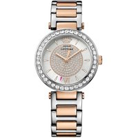 Juicy Couture Luxe Couture Luxe Couture Damenuhr in Zweifarbig 1901230 von Juicy Couture