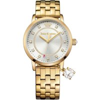 Juicy Couture Socialite Socialite Damenuhr in Gold 1901475 von Juicy Couture