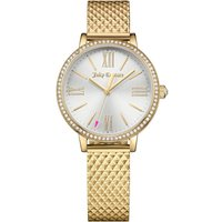 Juicy Couture Socialite Socialite Damenuhr in Gold 1901613 von Juicy Couture