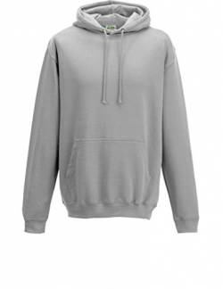 Just Hoods College Hoodie, Moondust Grey, XL von Just Hoods