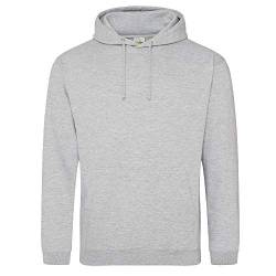 Just Hoods College Hoodie 5XL,Heather Grey von Just Hoods